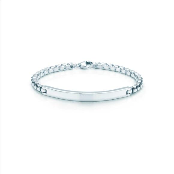 62f96b1b5 Tiffany & Co. Jewelry   Authentic Tiffany Co Venetian Id Bracelet ...